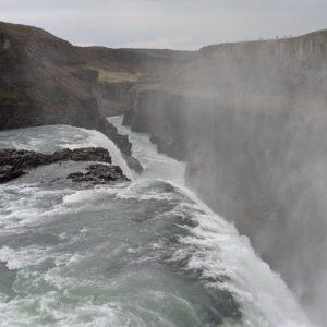 gullfoss and downstream