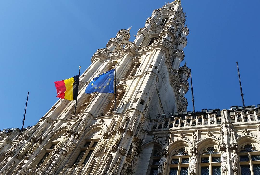 Brussels CIty Hall belfry