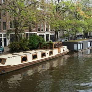 houseboats in a canal