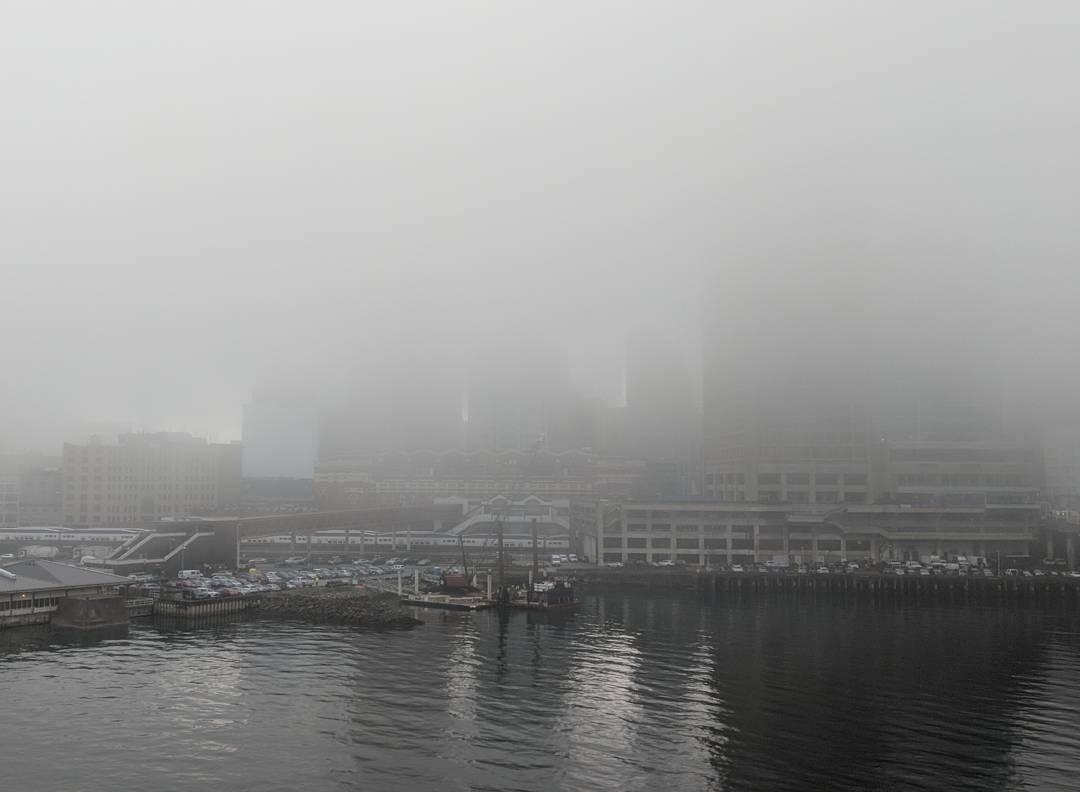 Foggy Coal Harbour