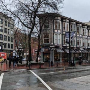 Corner of Water Street and Cordova