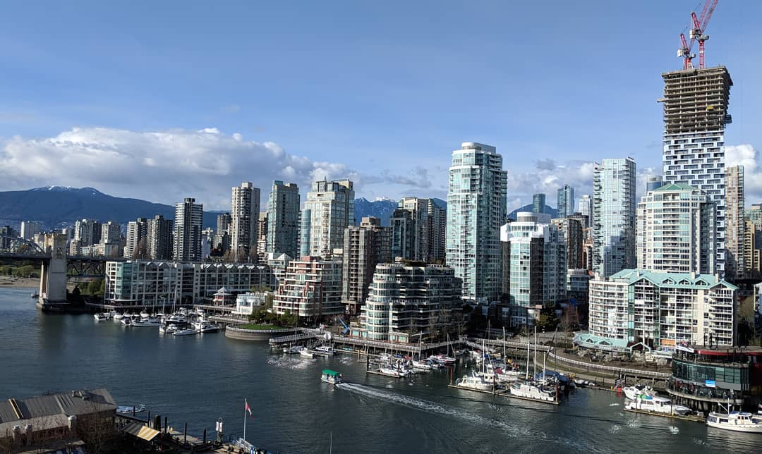 Downtown Vancouver on a nice day