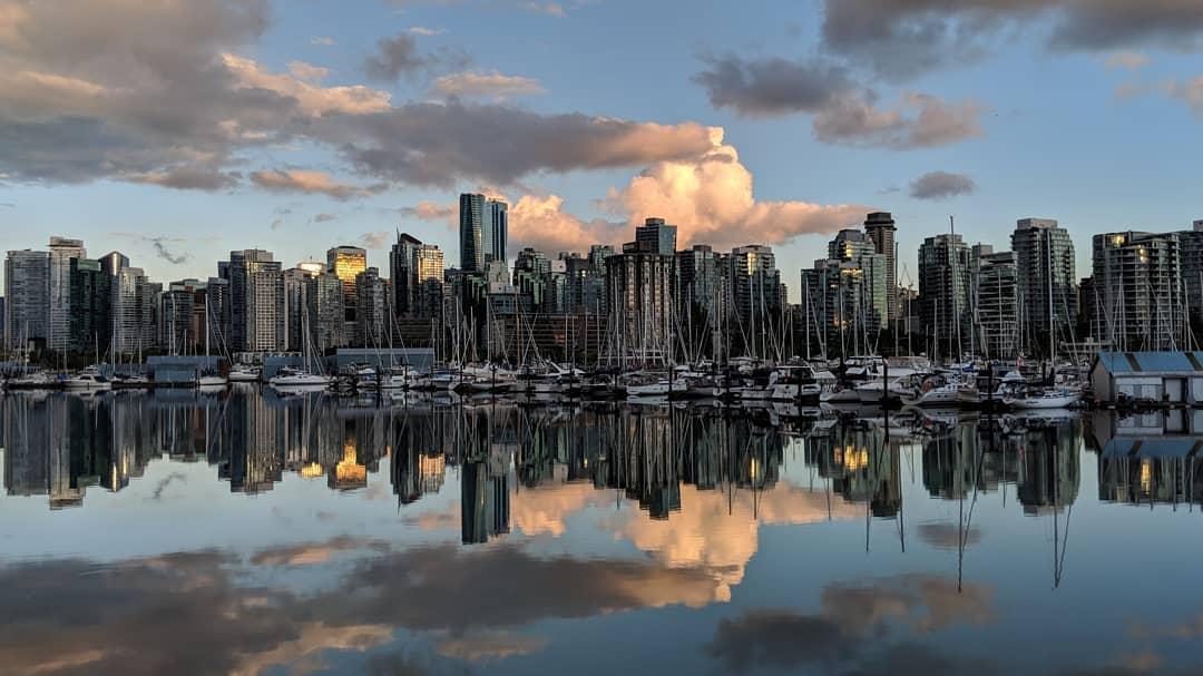 Reflected skyline