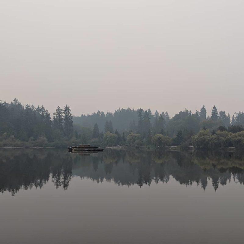 Smoky Lost Lagoon