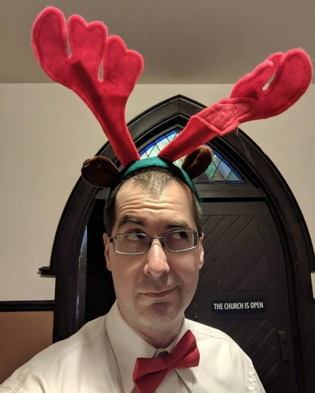 me with antlers