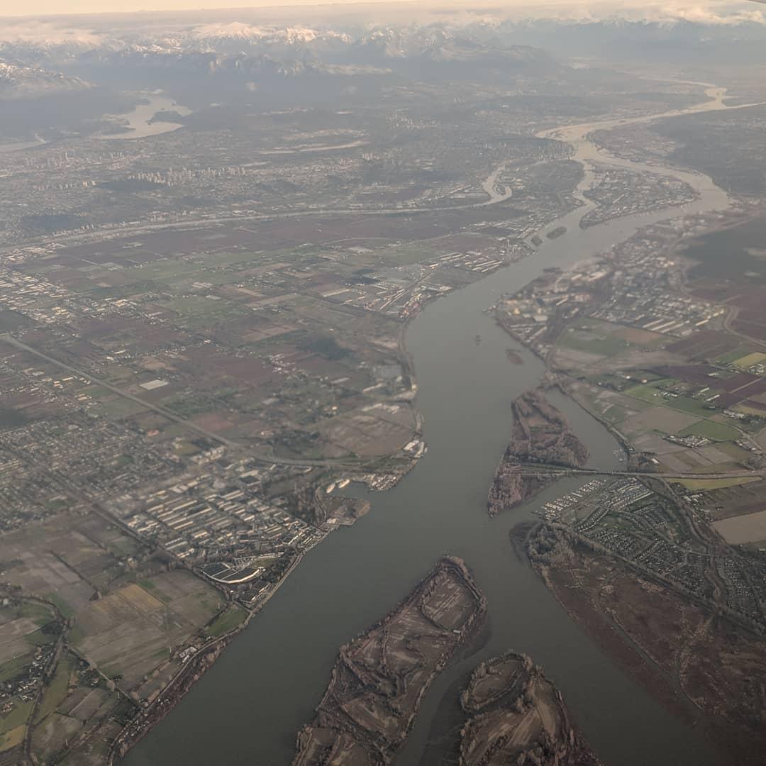 Fraser River from above