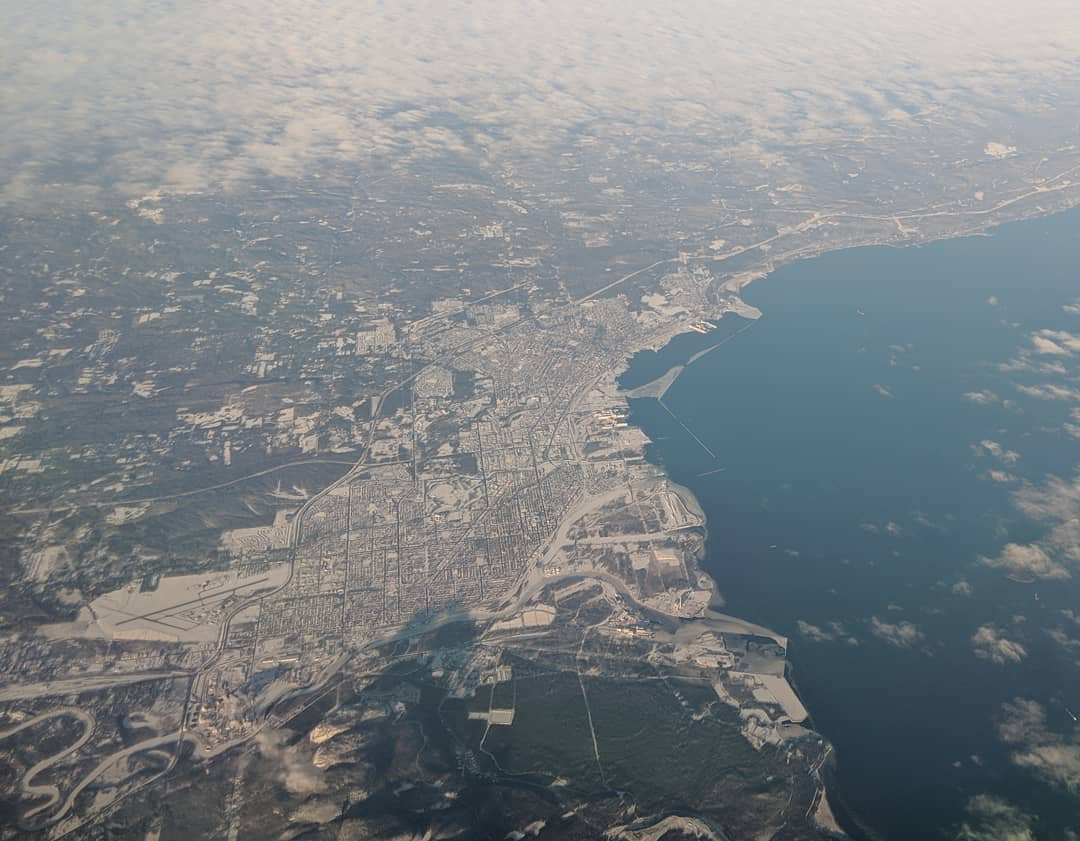Thunder Bay from above