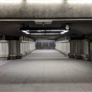 Langelier station entrance
