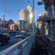 Construction by Granville Bridge