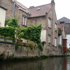 Canal and old buildings