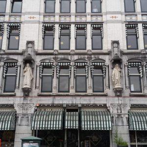 A pretty building facade