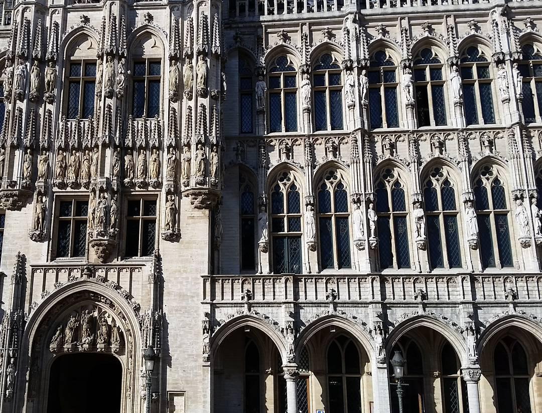 Busy neo-Gothic facade