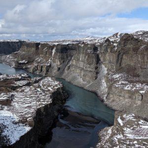 a pretty river canyon