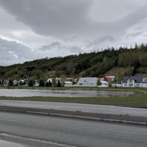 houses by the side of the road