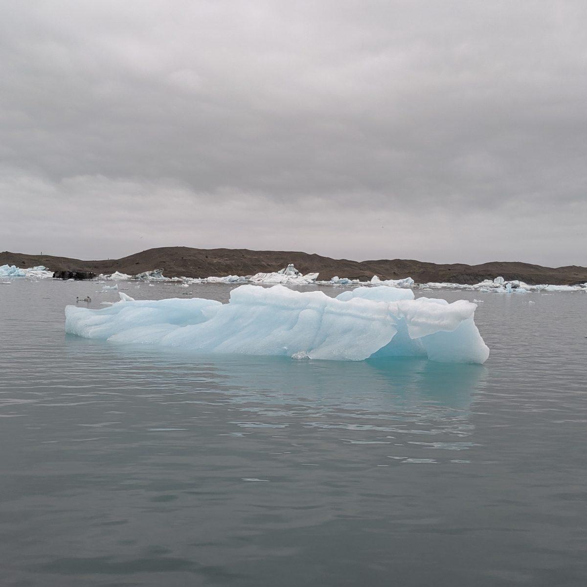 bluish iceberg