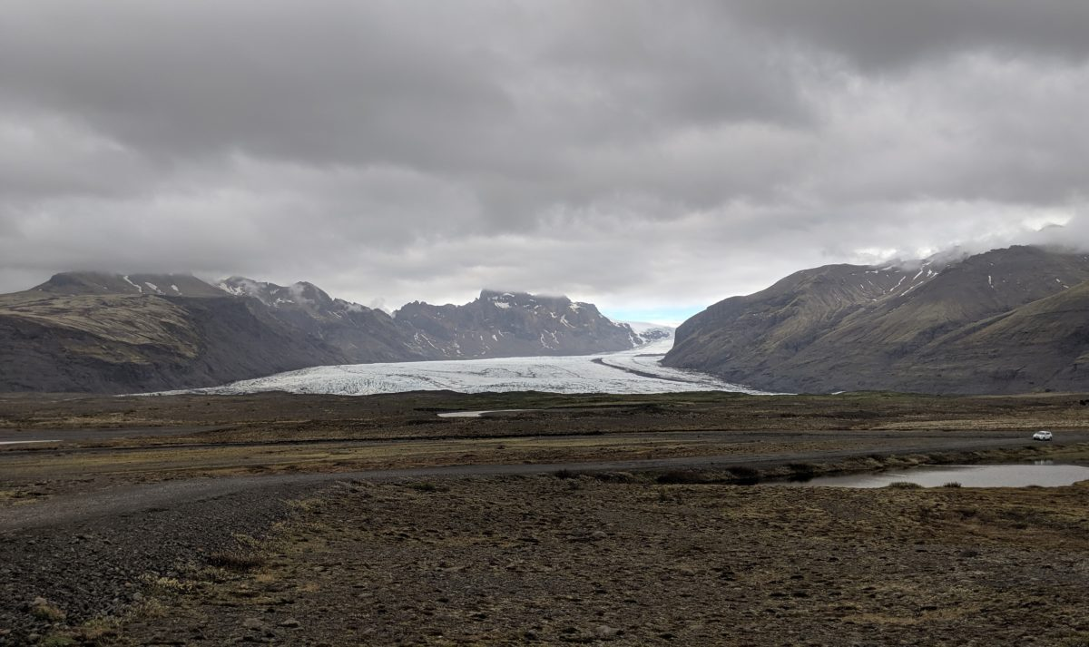 faraway glacier