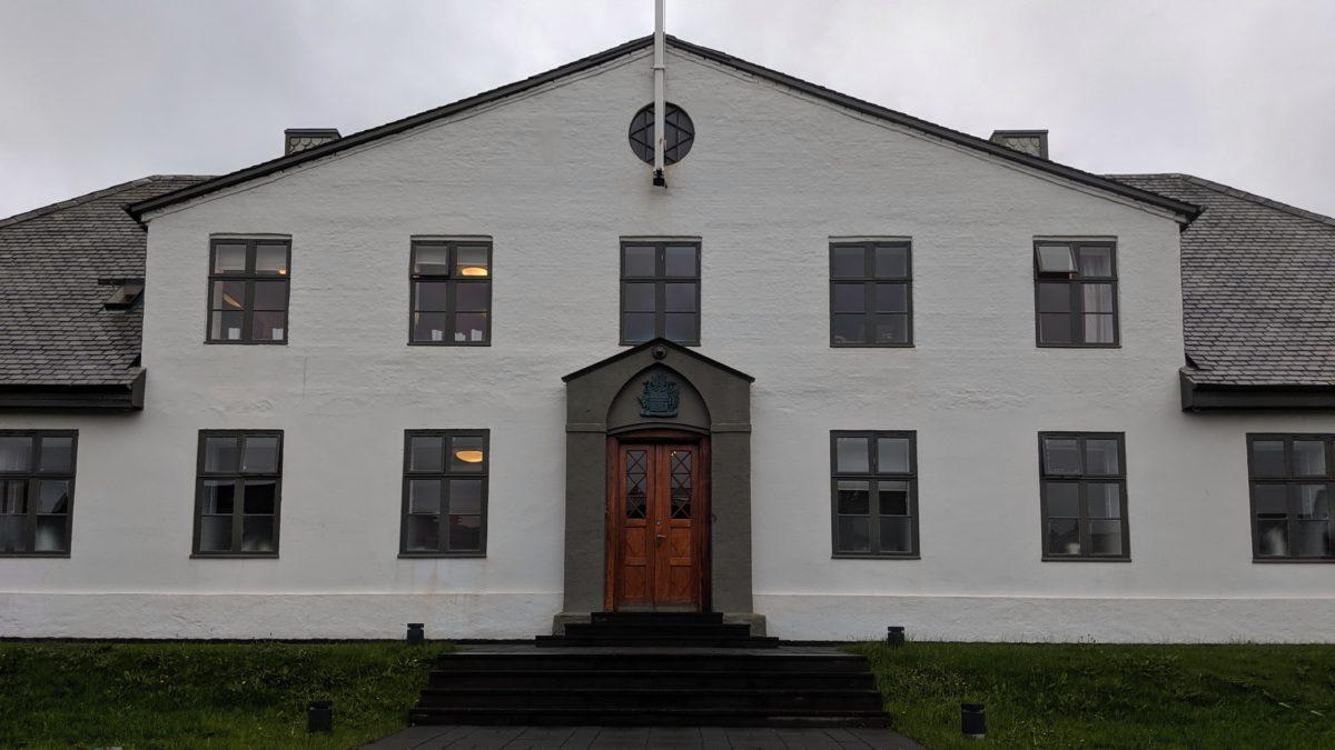 Iceland Primer Minister's office