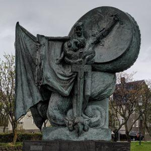 fantasy statue