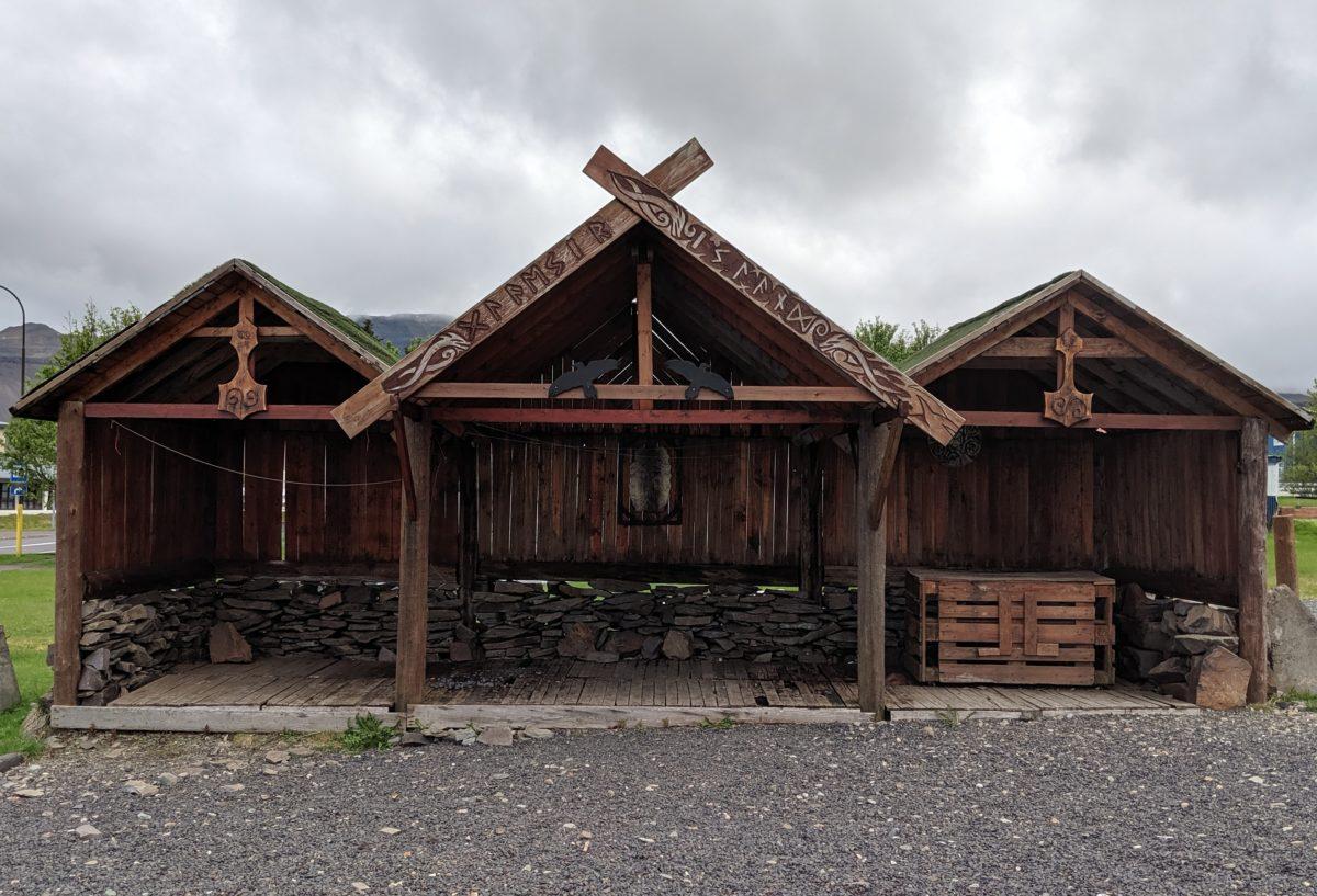 Some viking display