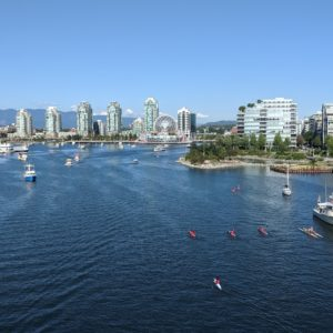 False Creek and Science World