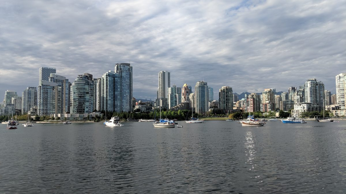 Vancouver across False Creek