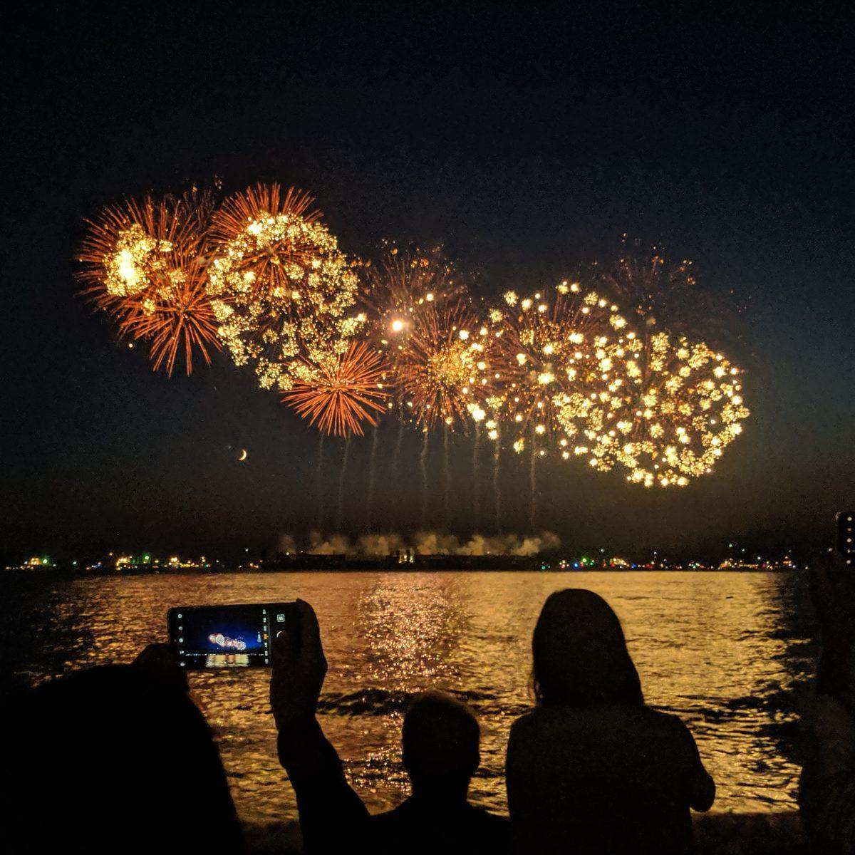 fireworks twice