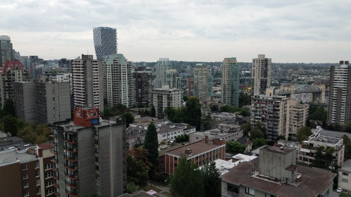 Downtown from above
