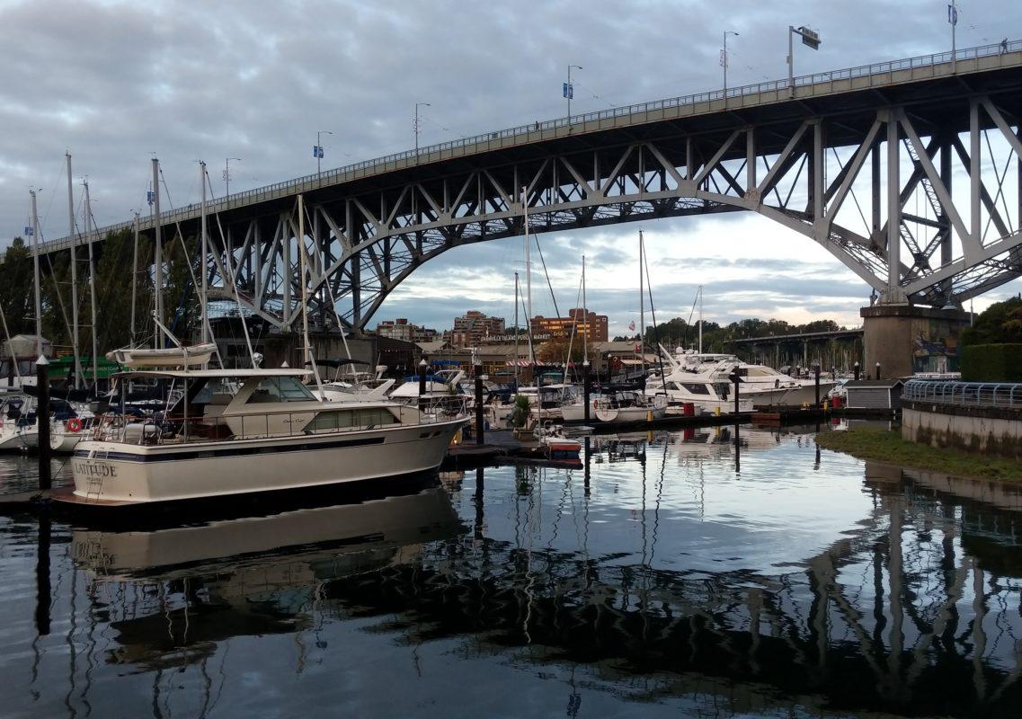 Granville Bridge morning