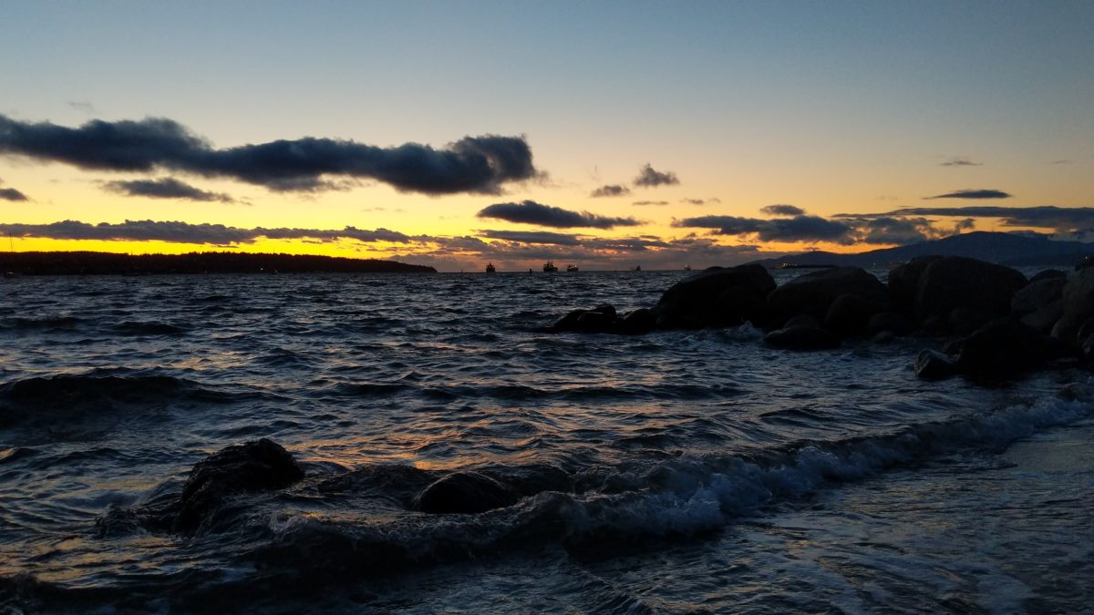 Tides at Sunset Beach
