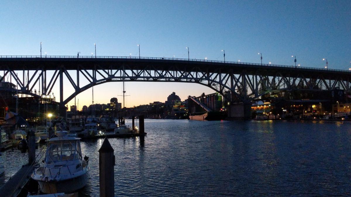 Granville Bridge sunrise