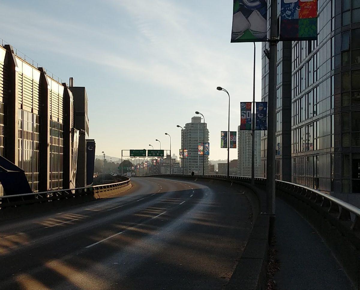 Georgia Viaduct, morning