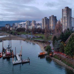 Ferry dock construction