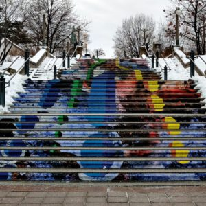 Heat Wave stairs