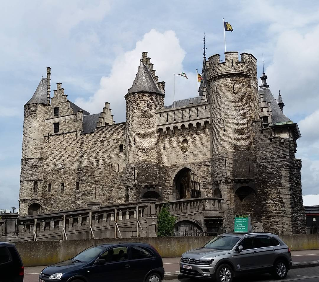 An old stone castle