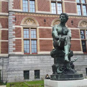 statue of the god Mercury