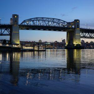 Burrard Bridge twilight