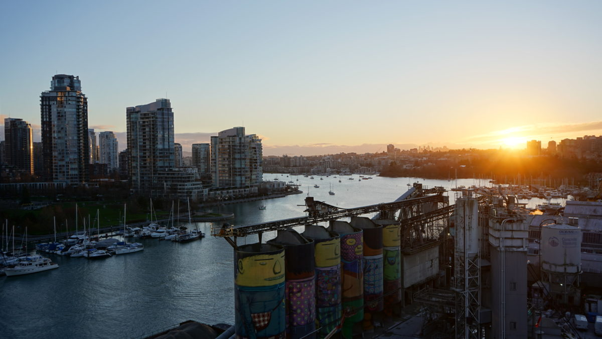 Sunrise from Granville Bridge