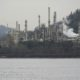 Oil refinery at the foot of Capitol Hill