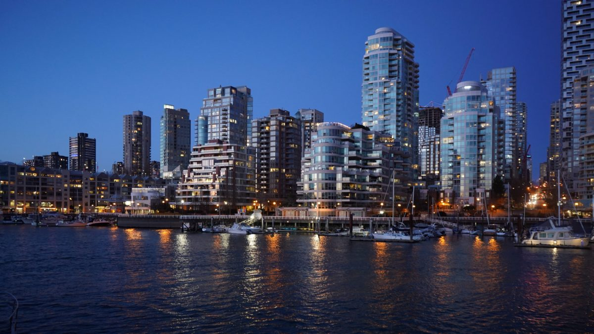 Downtown from Granville Island