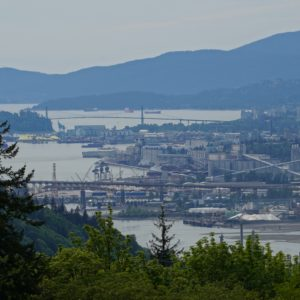 View from Burnaby Mountain