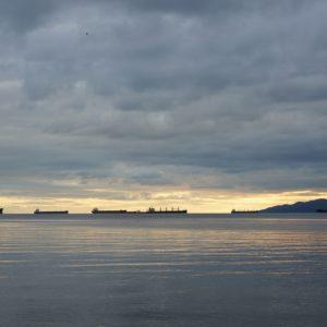 Twilight at Second Beach