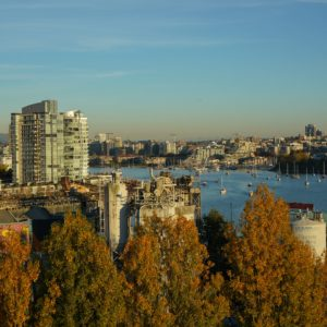 View of False Creek