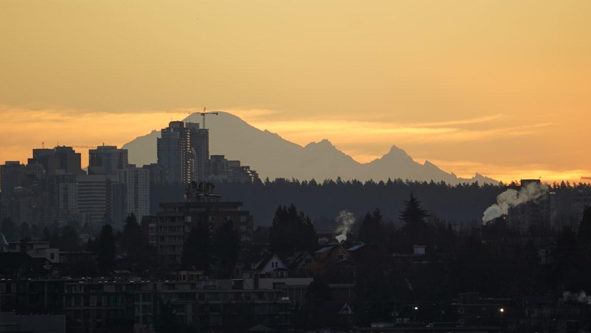 Mount Baker and skyline