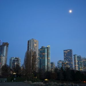 West End and moon