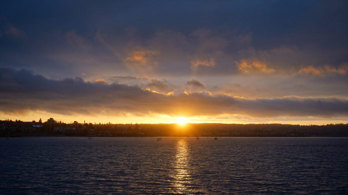 Sunset, English Bay