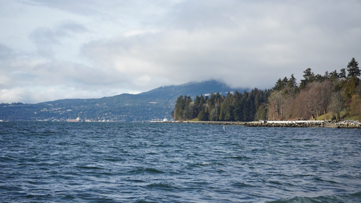English Bay and Stanley Park