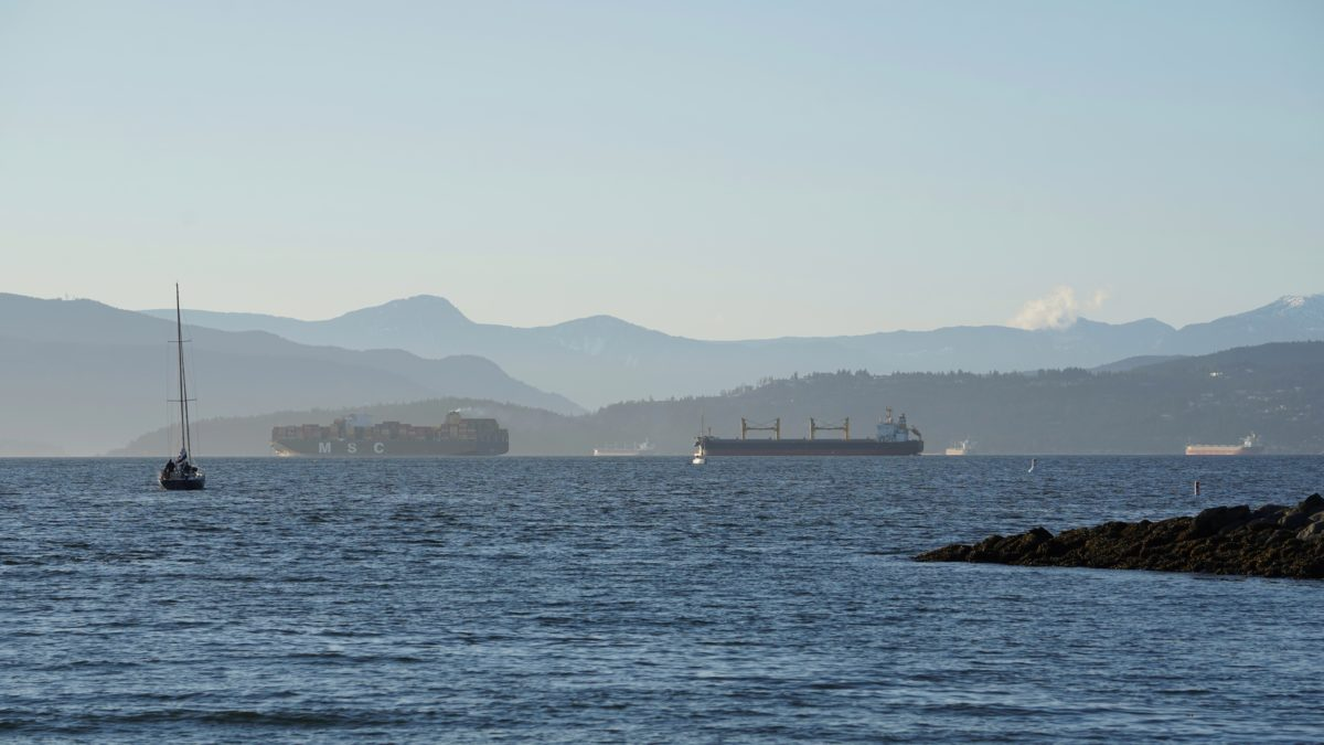 English Bay, late afternoon