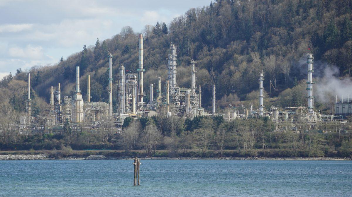 Shellburn Refinery